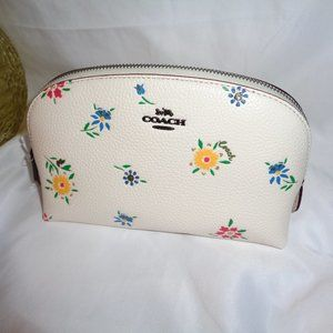 Coach 1084 Wildflower Cosmetic Case 17 Makeup Bag
